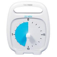Time Timer PLUS vit (14x18 cm.) - 20 min.
