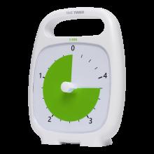 Time Timer PLUS vit (14x18 cm.) - 5 min.