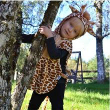 Utklädnad - Bebiskostym, giraff