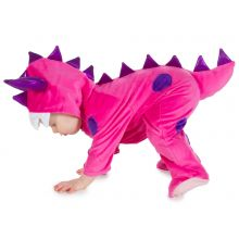 Utklädning - Babyoverall, rosa monster