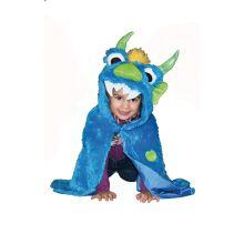 Utklädning - jacka, blå monster