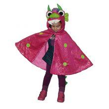 Utklädning - jacka, rosa drake