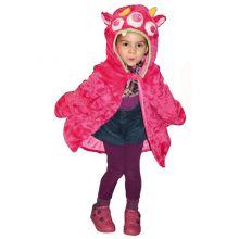 Utklädning - jacka, rosa monster