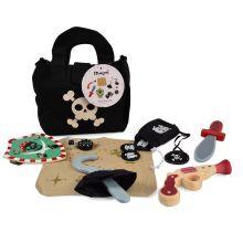 Utklädning - Piratset i väska, 8 delar