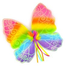 Utklädning - Fjärilsvingar, regnbåge