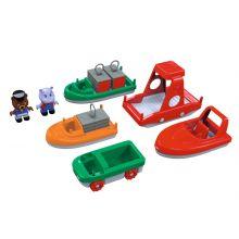 Vattenbana AquaPlay tillbehör - Båtset, 10 delar