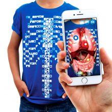 Anatomi-t-shirt, Interaktiv - Vuxen