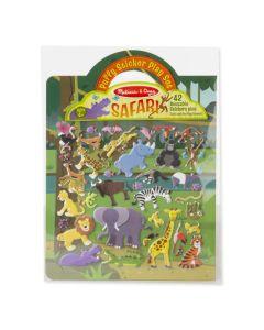 Aktivitetsbok med klistermärken - Safari