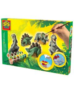 Gjut & Måla - Dinosaurier