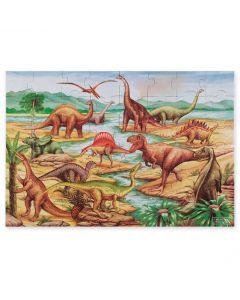 Pussel till golvet - 48 bitar Dinosaurier