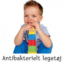 Antibakteriella leksaker