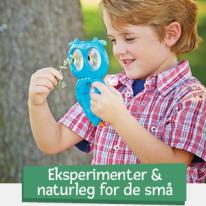 Experiment & Naturlek för de små