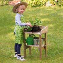 Trädgårdslek
