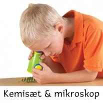 Kemi-set & mikroskop