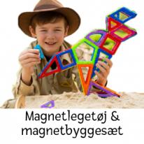 Magnetleksaker & magnetiska bygg-set