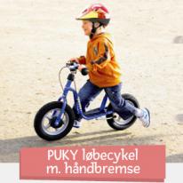 PUKY springcykel med handbroms