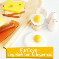 PlanToys - Leksakskök & leksaksmat