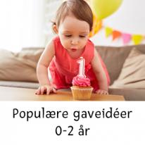 Populära presentidéer 0-2 år