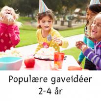 Populära presentidéer 2-4 år