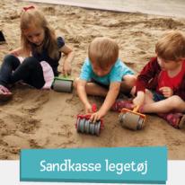 Leksaker till sandlådan