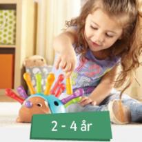 Leksaker 2-4 år