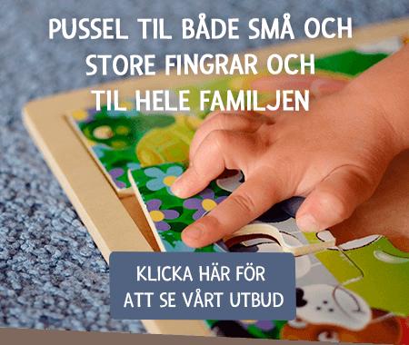 Pussel till både små och stora fingrar och till hela familjen